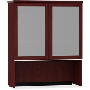 bbf Milano 2 Series Bookcase Hutch with Doors BSH50HS36CS
