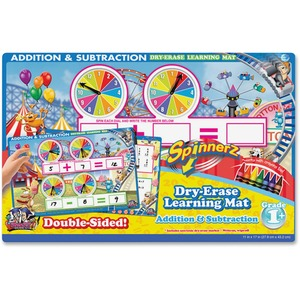 The Board Dudes SpinnerZ Dry-erase Learning Mat BDU99101UA12