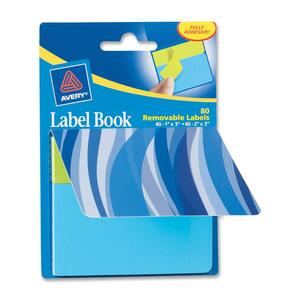 Avery Blue Waves Label Book AVE22072