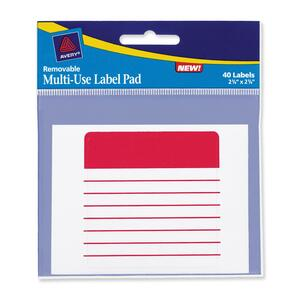 Avery Multi-use Assorted Label AVE45274