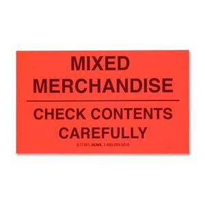 Tatco Mixed Merchandise Shipping Label TCO10954