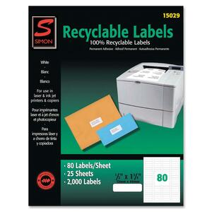 Simon Recyclable Return Address Label SJPSL15029