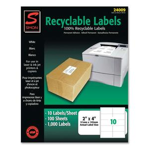 Simon Recyclable Address Label SJPSL24009