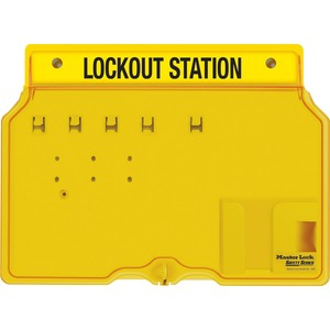 Master Lock Unfilled Lockout Station MLK1482B