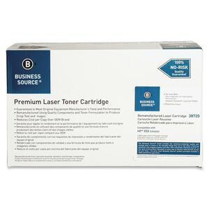 Business Source Toner Cartridge - Remanufactured for HP - Black BSN38720