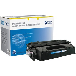 Elite Image Toner Cartridge - Remanufactured for HP - Black ELI75435