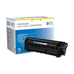 Elite Image Toner Cartridge - Remanufactured for Canon - Black ELI75448