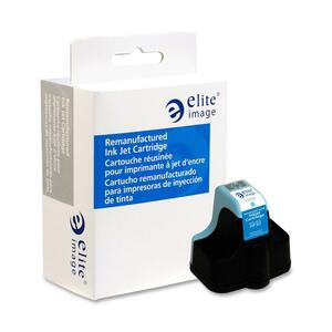 Elite Image Ink Cartridge - Remanufactured for HP - Cyan ELI75459