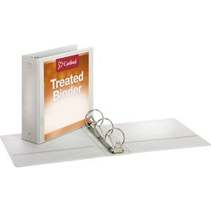 Cardinal Antimicrobial ClearVue Locking Round Ring Binder CRD32230