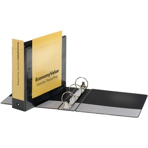 Cardinal EconomyValue ClearVue Round Ring Binder CRD90090