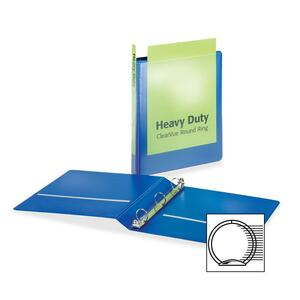 Cardinal HeavyDuty ClearVue Round Ring Binder CRD49105