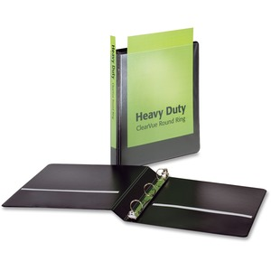 Cardinal HeavyDuty ClearVue Round Ring Binder CRD49104