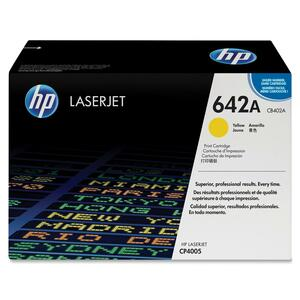 HP 642A Yellow Original LaserJet Toner Cartridge for US Government HEWCB402AG