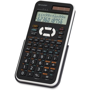 Sharp EL506X Scientific Calculator SHREL506XBWH