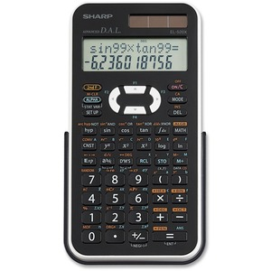 Sharp EL520X Scientific Calculator SHREL520XBWH