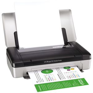 HP Mobile 100 Officejet L411A Inkjet Printer - Color - Plain Paper Print