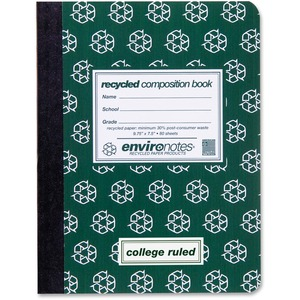 Roaring Spring Environotes Recycled Composition Book ROA77284