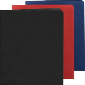Smead 87979 Assortment Lockit Two-Pocket File Folder SMD87979