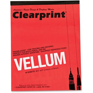 ClearPrint Vellum Pad CLE63001410