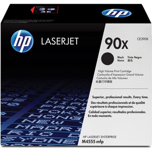 HP 90X Toner Cartridge - Black HEWCE390X