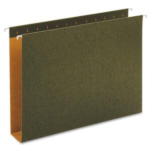 Globe-Weis Green Hanging Box Bottom Folders GLW65359