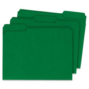 Globe-Weis Single Top Colored File Folder GLW13143