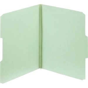 Globe-Weis Light Green Pressboard Folder GLW23234