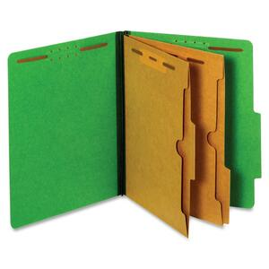 Globe-Weis 2-Pocket Divider Classification Folder GLW24083