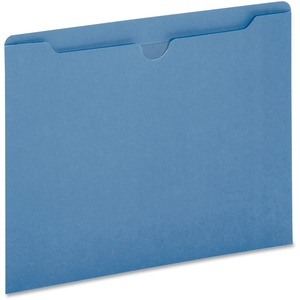 Globe-Weis Colored File Jacket GLWB3010DTBLU