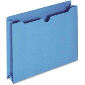 Globe-Weis Colored File Jacket GLWB3043DTBLU
