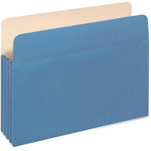 Globe-Weis Colored File Pocket GLW1514CBLU