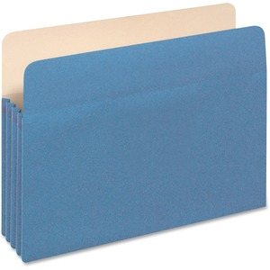 Globe-Weis Colored File Pocket GLW1524EBLU