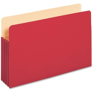Globe-Weis Colored File Pocket GLW1526ERED