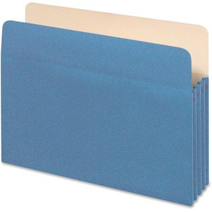 Globe-Weis Colored File Pocket GLW1534GBLU10