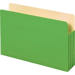Globe-Weis Colored File Pocket GLW1536GGRE10