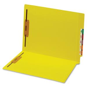 Globe-Weis End Tab Color Fastener Folder GLW45940