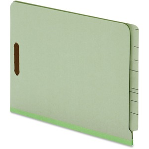 Globe-Weis End Tab Pressboard Folder with Fastener GLW44725