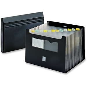 Globe-Weis Desktop Expanding File with Flap GLW84125