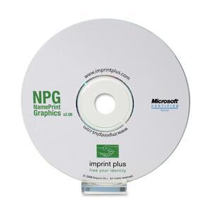 Imprint Plus Mighty Badge NPG Badge Design Software IPP3423
