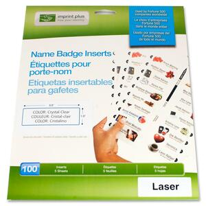 Imprint Plus Mighty Badge Insert Sheet IPP2167