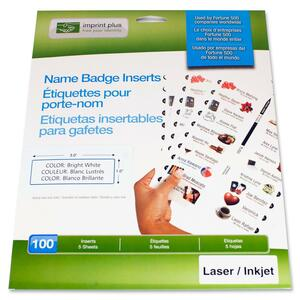 Imprint Plus Name Badge Insert IPP3140