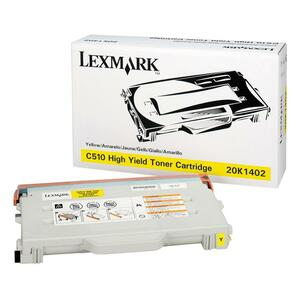 Lexmark Yellow Toner Cartridge LEX20K1402
