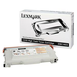Lexmark Black Toner Cartridge LEX20K1403