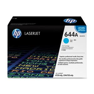 HP 644A (Q6461AG) Cyan Original LaserJet Toner Cartridge for US Government HEWQ6461AG