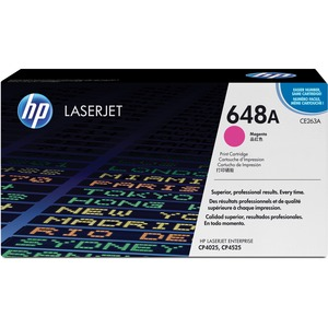 HP 648A Magenta Original LaserJet Toner Cartridge for US Government HEWCE263AG