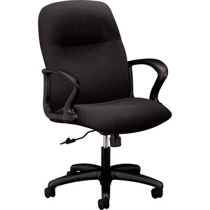 HON Gamut H2072 Mid-Back Management Chair with Loop Arms HON2072CU10T