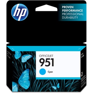 HP 951 Cyan Original Ink Cartridge HEWCN050AN