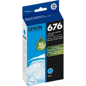 Epson DURABrite Ultra 676XL Ink Cartridge - Cyan EPST676XL220