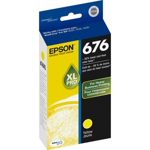 Epson DURABrite Ultra 676XL Ink Cartridge - Yellow EPST676XL420