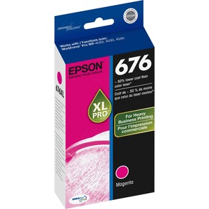 Epson DURABrite Ultra 676XL Ink Cartridge - Magenta EPST676XL320